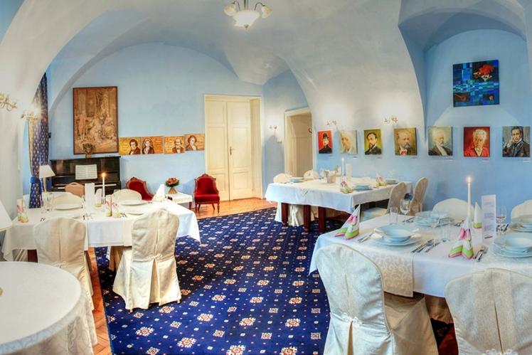 Hudobný salón Hotel Kaštieľ Mojmírovce