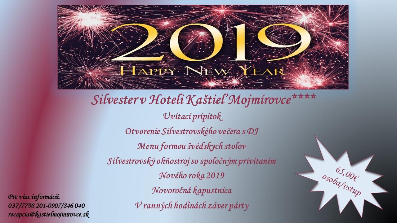 Silvester v Hoteli Kaštieľ Mojmírovce****